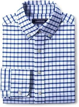 Lands' End Lands'end School Uniform Toddler Boys Washed Oxford Shirt