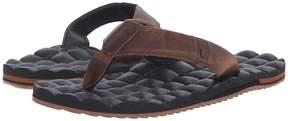 Volcom Recliner Leather Men's Sandals