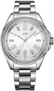 JBW Women's Capri 0.12 ctw Diamond Stainless Steel Watch J6340D