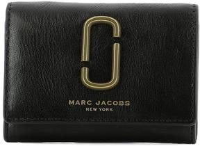 Marc Jacobs Black Leather Wallet - BLACK - STYLE
