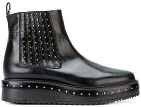 Albano studded platform Chelsea boots