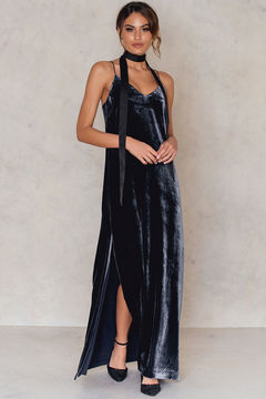 Filippa K Velvet Strap Dress