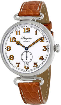 Longines Heritage 1918 White Dial Automatic Men's Watch