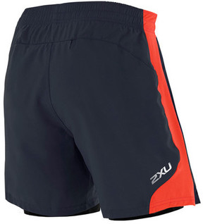 2XU Men's X-VENT 7 inch Short with Compression