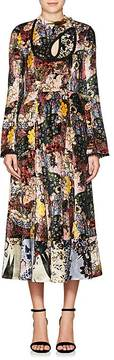 Erdem Women's Zuzanna Floral Velvet Dress