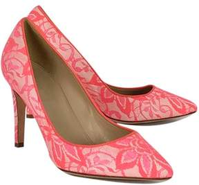J.Crew Pink Lace Pointed Heels
