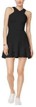 Bar III X-front Fit Flare Dress.