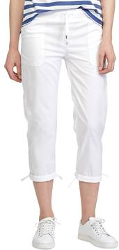 Chaps Women's Twill Straight-Leg Pants