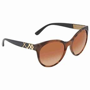 Burberry Brown Gradient Round Ladies Sunglasses BE4236-362313-56
