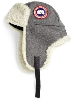 Canada Goose Merino Wool Shearling Pilot Hat