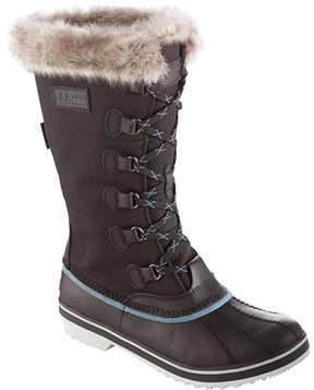 L.L. Bean Women's Waterproof Rangeley Pac Boots, Tall Insulated