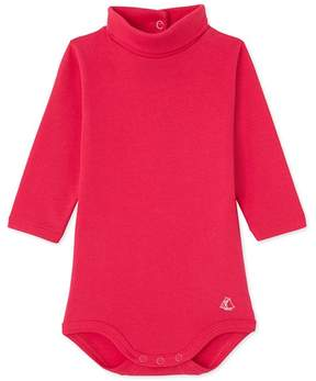 Petit Bateau Baby roll neck bodysuit