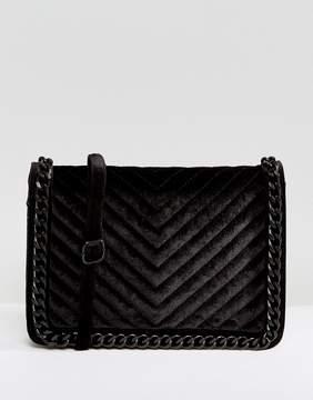 ALDO Duroante Velvet Cross Body Bag