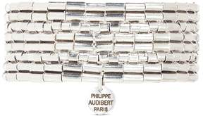 Philippe Audibert 'Line Three' segmented plate elastic bracelet