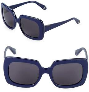 Zac Posen Women's Mounia 54MM Square Sunglasses