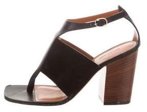 Celine Leather Cage Sandals