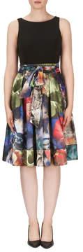Joseph Ribkoff Watercolor Skirt Dress