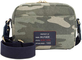 Tommy Hilfiger Bowers Camo Canvas Crossbody