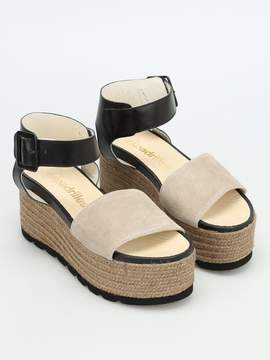 Espadrilles Query Bicolour Platform