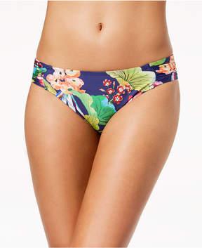 LaBlanca La Blanca Bora Bora Printed Side-Shirred Bikini Bottoms Women's Swimsuit