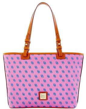Dooney & Bourke Gretta Small Leisure Shopper Tote - LAVENDER BLUE - STYLE