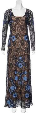 ALICE by Temperley Lace Evening Dress