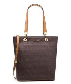 Michael Kors Raven Large North South Tote - Brown - 30S7GRXT3V-200 - BROWN - STYLE