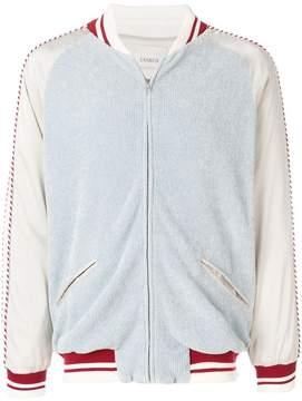 Laneus zipped bomber jacket
