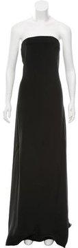 Cédric Charlier Strapless Maxi Dress w/ Tags