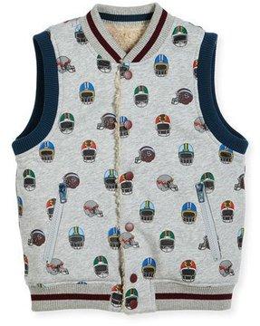 Stella McCartney Rhubarb Reversible Vest, Size 4-6