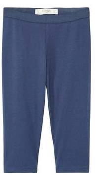 MANGO Cotton crop leggings