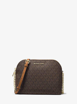 Michael Kors Cindy Logo Crossbody - BROWN - STYLE