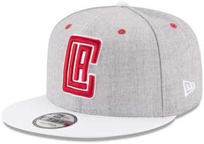 New Era Los Angeles Clippers White Vize 9FIFTY Snapback Cap