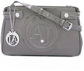 Armani Jeans logo embossed shoulder bag