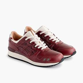 J.Crew PackerTM X X ASICS TigerTM GEL-LYTE® III Oxblood Leather sneakers