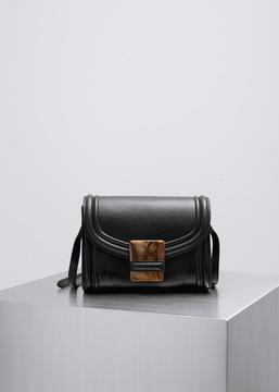 Dries Van Noten black shoulder bag