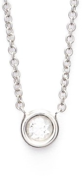Bony Levy Women's Small Diamond Solitaire Pendant Necklace (Limited Edition) (Nordstrom Exclusive)