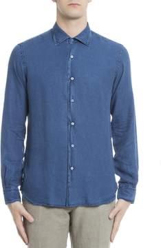 Orian Blue Lyocell Shirt