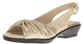 Easy Street Shoes Womens Fantasia Open Toe Casual Slingback Sandals.