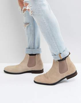 Call it SPRING Andler Suede Chelsea Boots in Beige