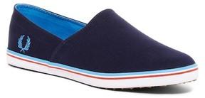 Fred Perry Kingston Stampdown Twill Slip-On Sneaker