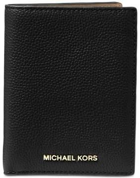 Michael Kors MICHAEL Mercer Passport Wallet - BLACK - STYLE
