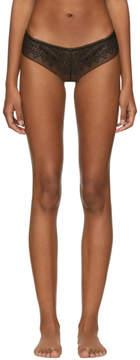 Calvin Klein Underwear Black Excite Thong