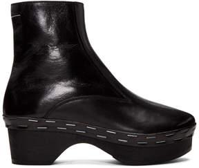Maison Margiela Black Clog Boots