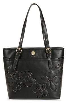 Anne Klein Studded Floral Tote Bag