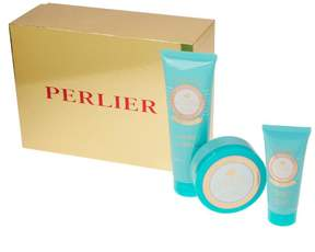 Perlier Golden Almond 3-piece Kit with Gift Box