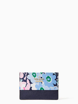 Kate Spade Cameron stret daisy garden card holder