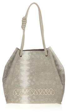 Danielle Nicole Hutton Snake-Embossed Tote with Removable Pouch