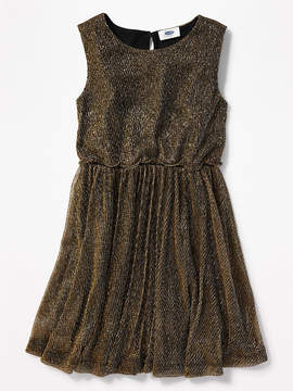 Old Navy Fit & Flare Sparkle Dress for Girls