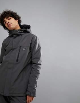 Billabong All Day Snow Jacket in Dark Gray